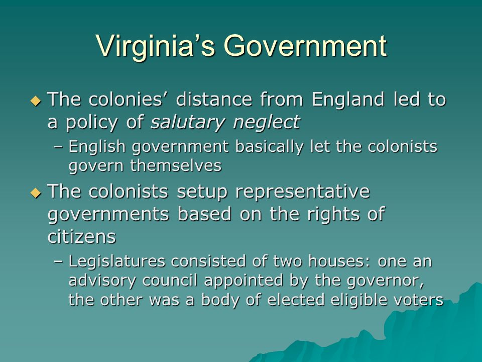 Virginia's Government