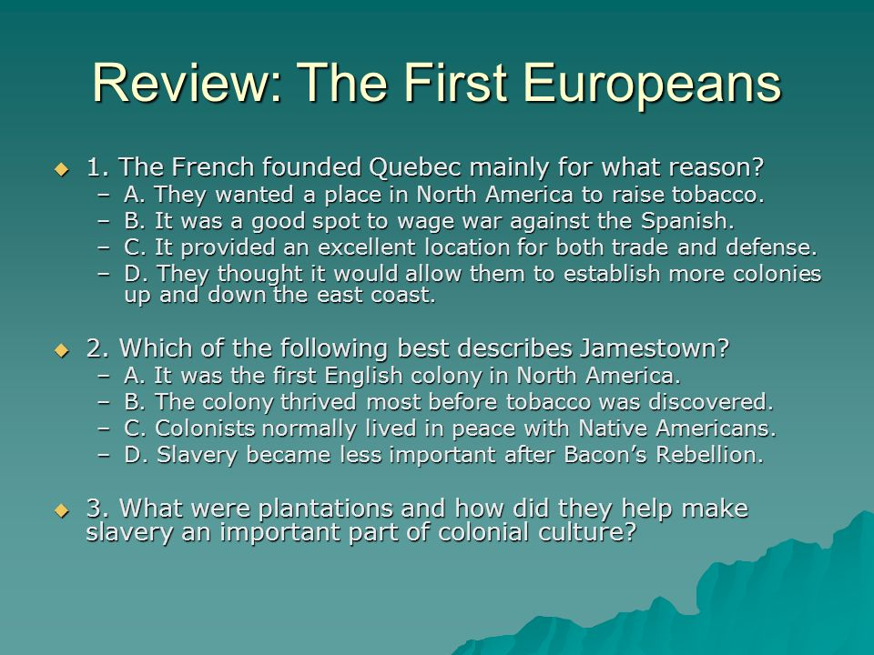 Review: The First Europeans