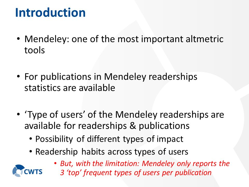 types of readership