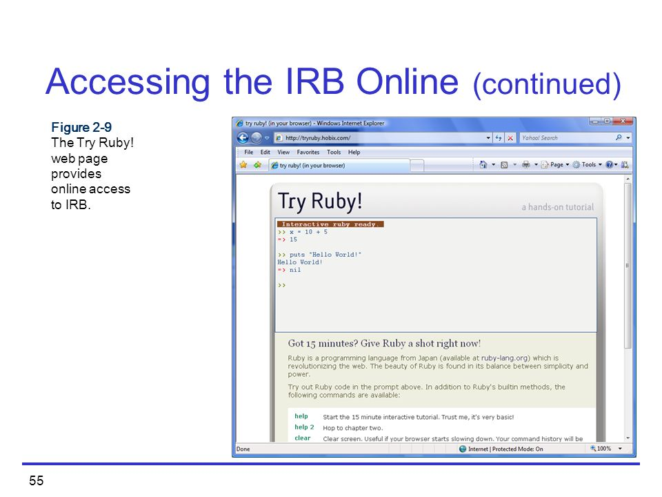 Ruby Programming  - ppt download