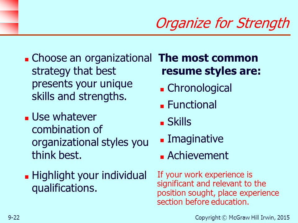 Strategies in the Job-Search Process - ppt download