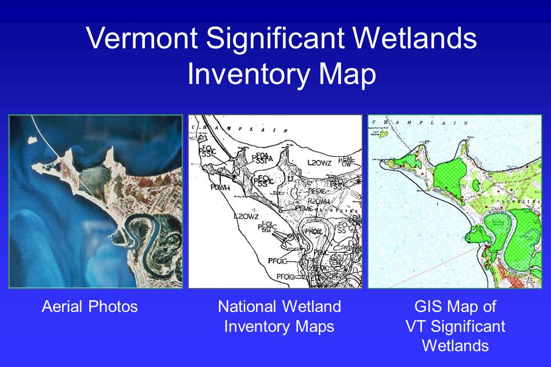 Vermont Significant Wetlands Inventory Map