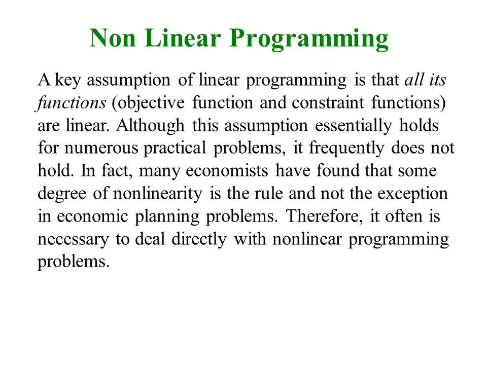 Ppt linear programming powerpoint presentation id:6597274.