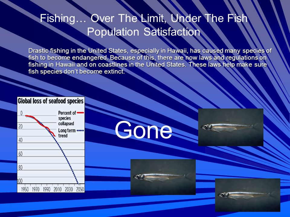 Fishing… Over The Limit, Under The Fish Population Satisfaction