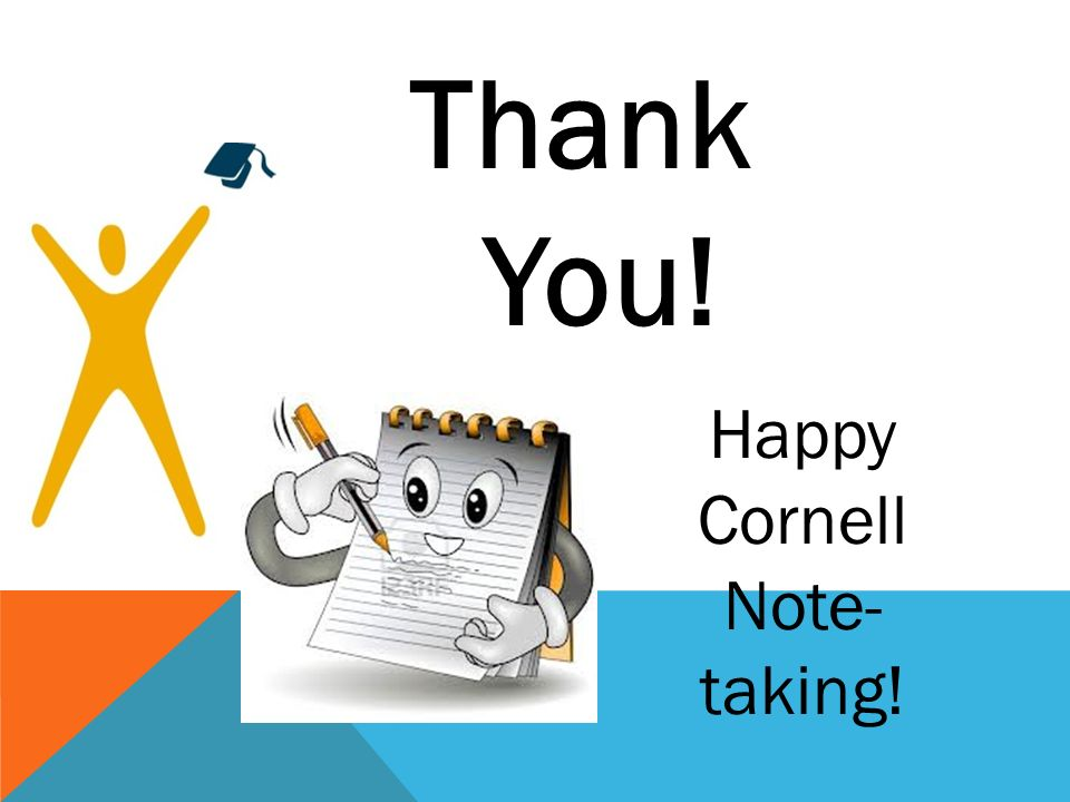 Happy Cornell Note-taking!