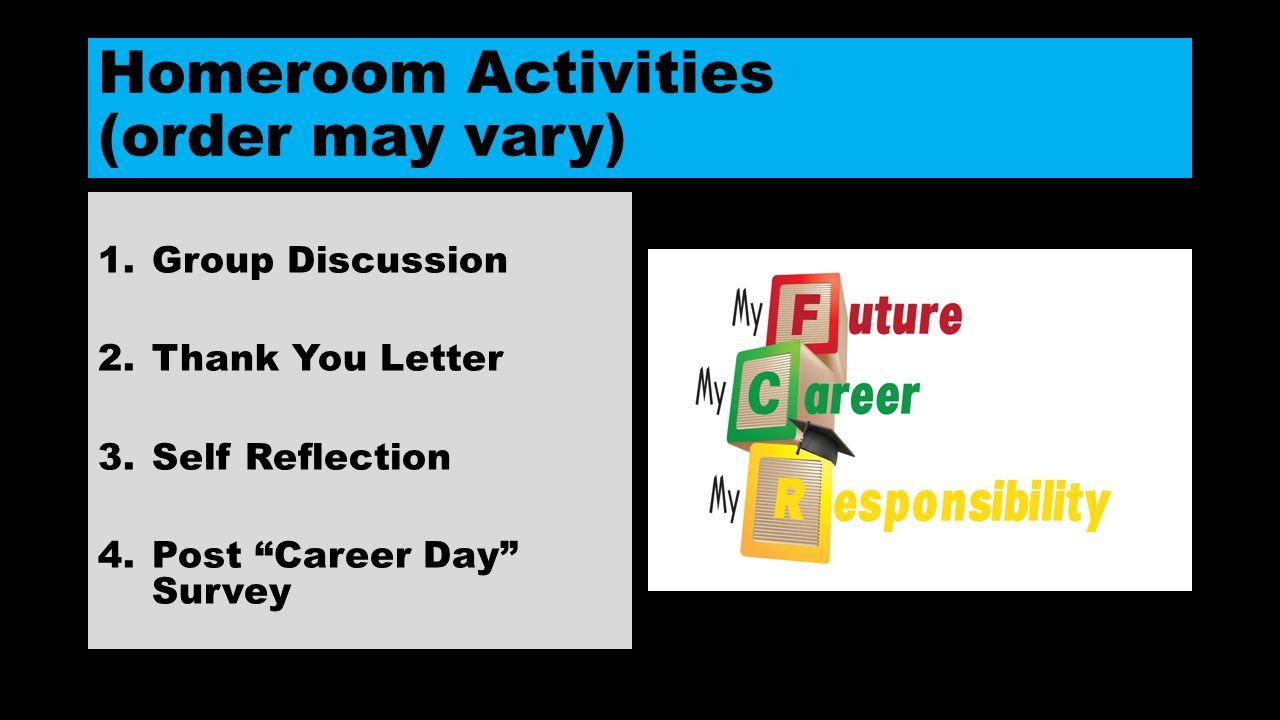 Career Day 8th Grade 8th Grade 0417 Ppt Video Online Download