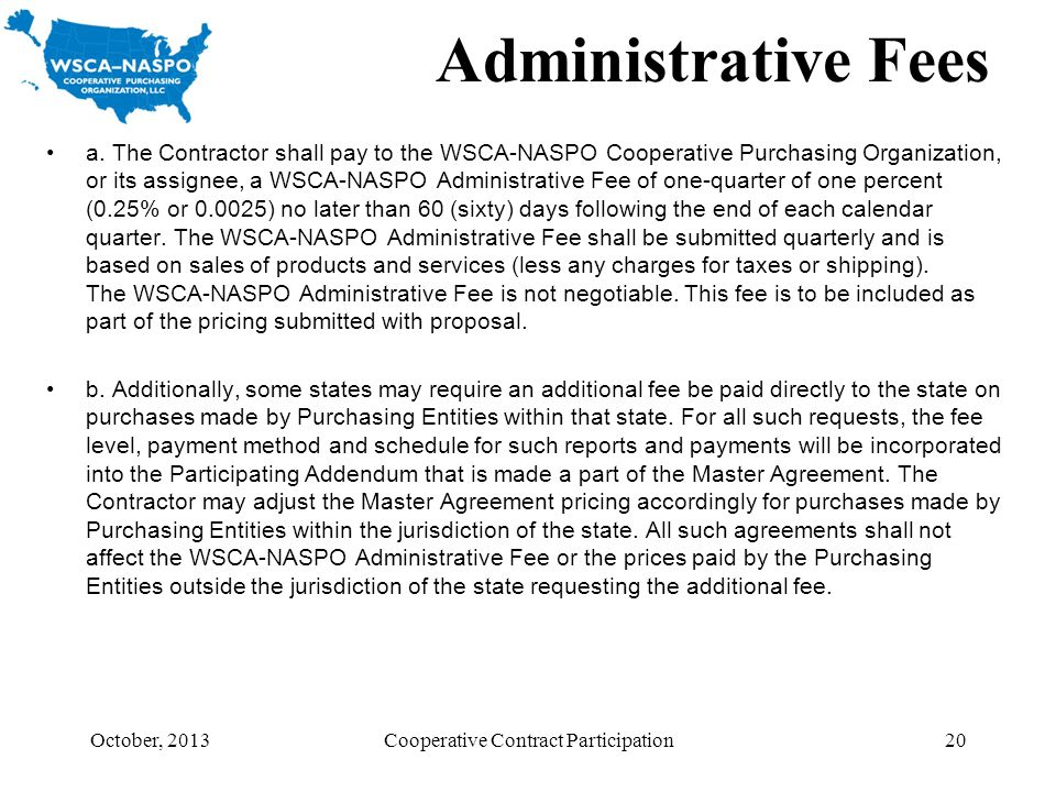 Cooperative Contract Participation