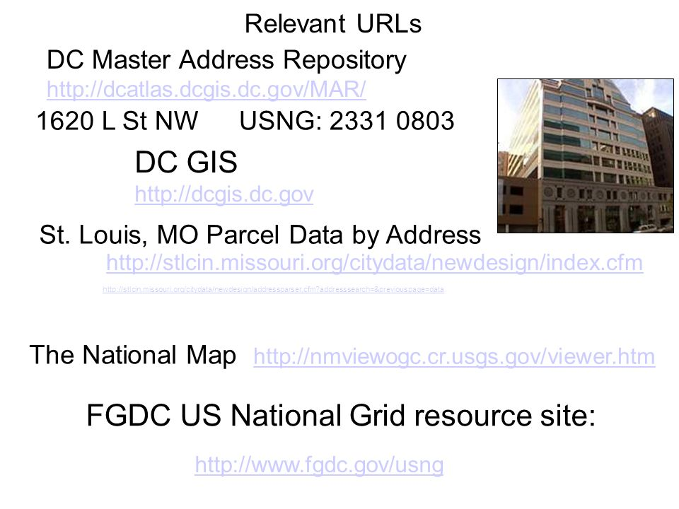 FGDC US National Grid resource site: