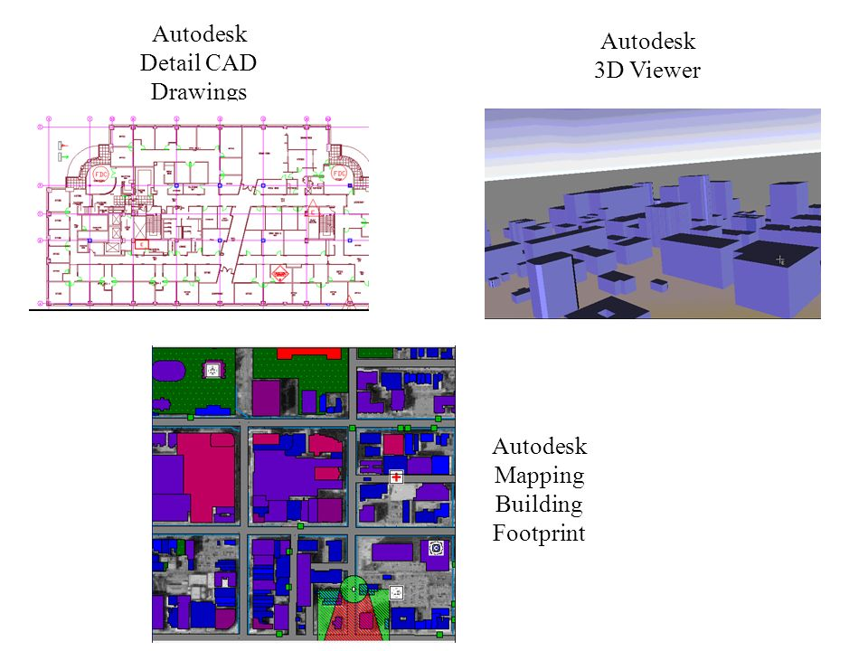 Autodesk Detail CAD Drawings