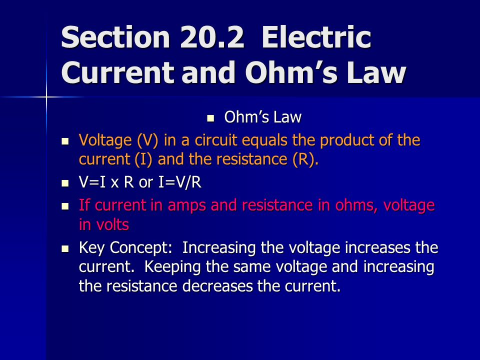 Chapter 20: Electricity Section Electric Charge and Static