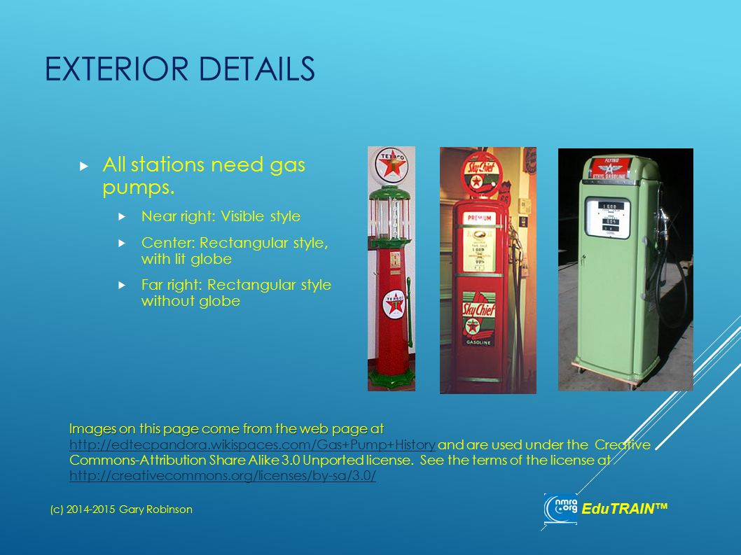 Detailing a Gas Station for the Transition Era - ppt download