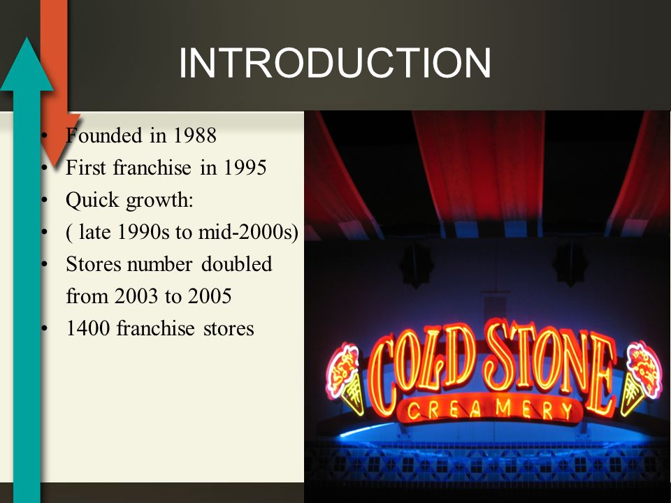 cold stone creamery franchise failure