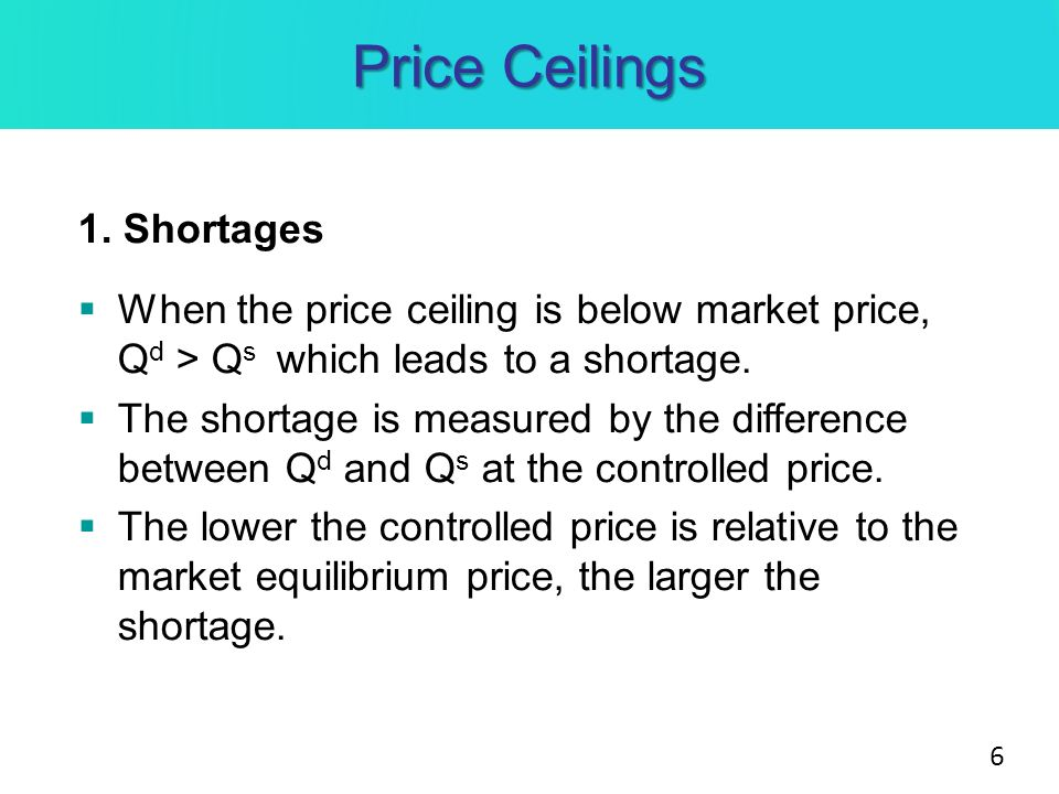 Price Ceilings And Floors Ppt Video Online Download
