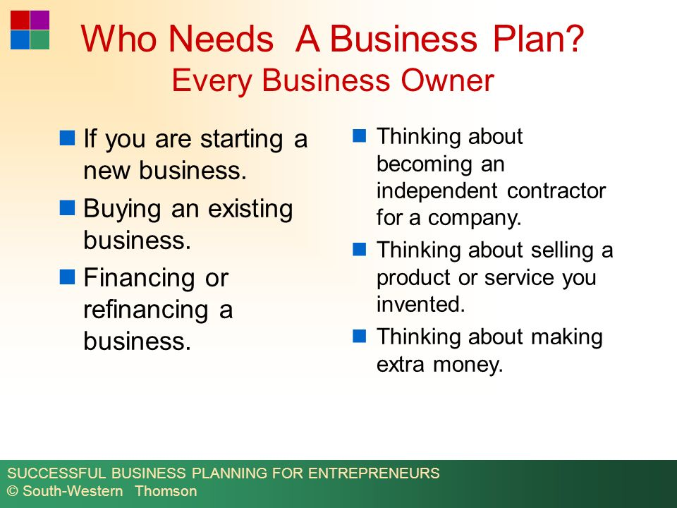business plan and financials ppt download