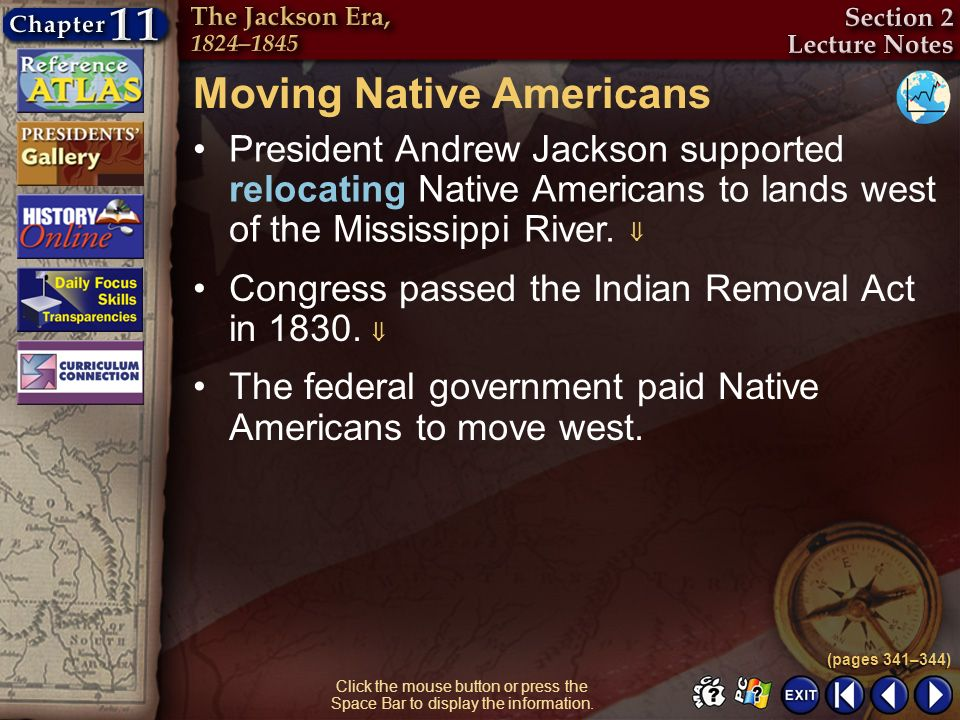 Moving Native Americans