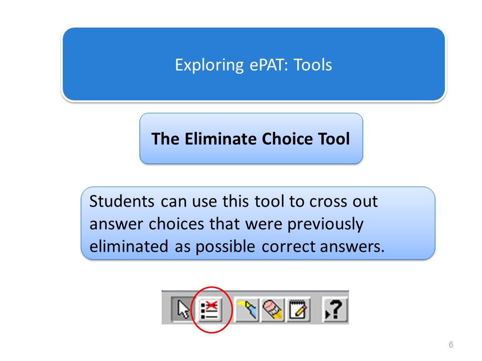 The Eliminate Choice Tool