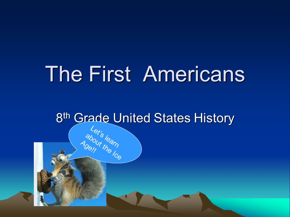 8th Grade United States History