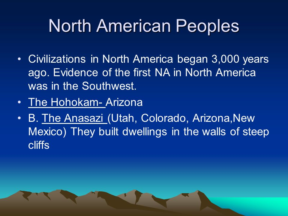 North American Peoples
