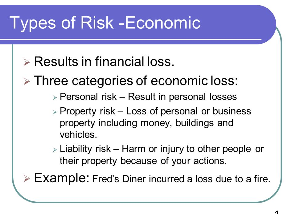 Understand risk management and insurance  - ppt video online