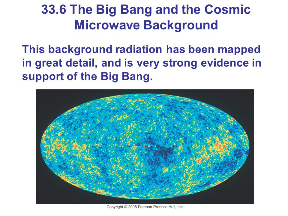 33.6 The Big Bang and the Cosmic Microwave Background