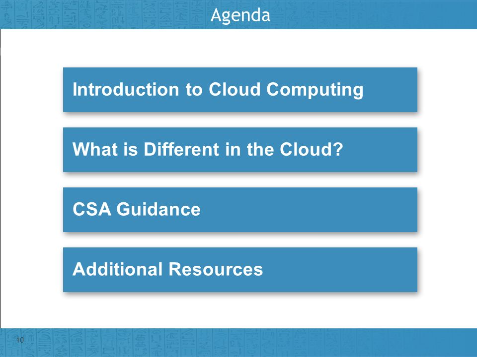 Agenda Introduction to Cloud Computing. What is Different in the Cloud.