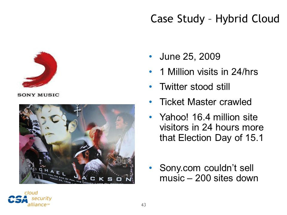 Case Study – Hybrid Cloud