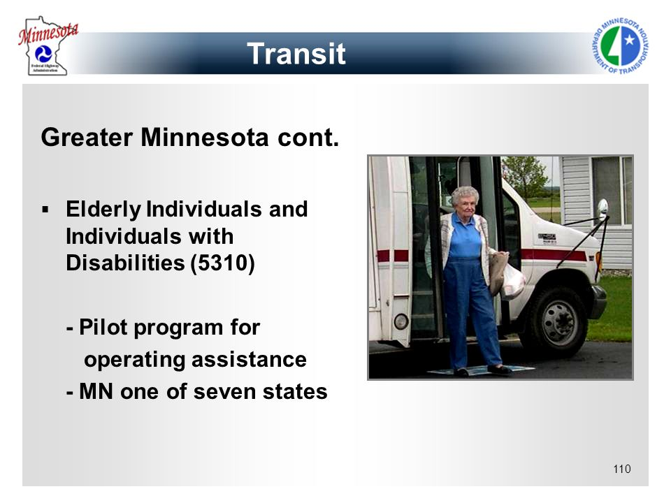 Transit Greater Minnesota cont.