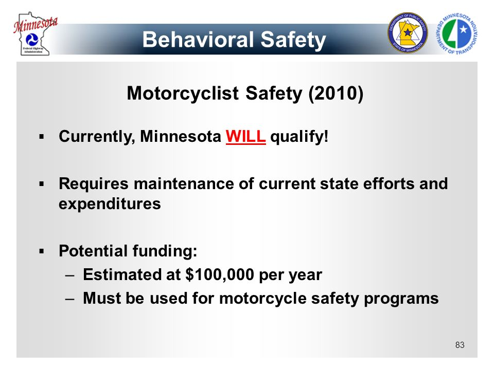Motorcyclist Safety (2010)