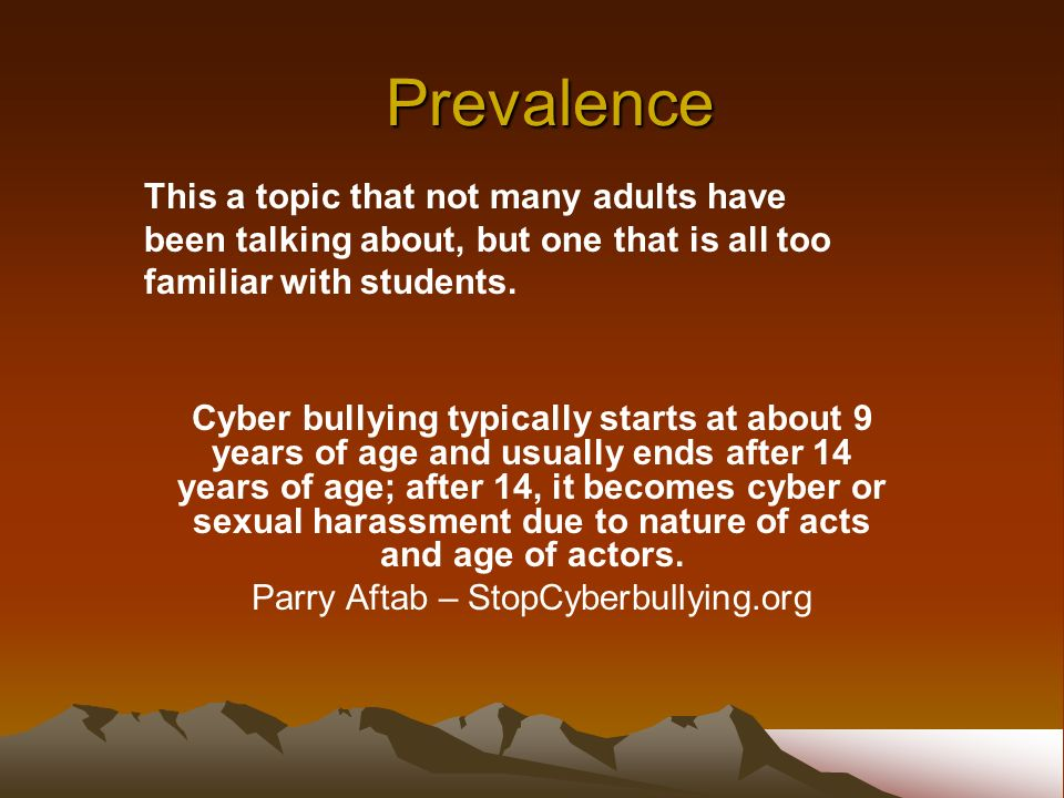 Parry Aftab – StopCyberbullying.org