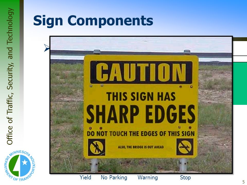 Sign Components Panel Corners