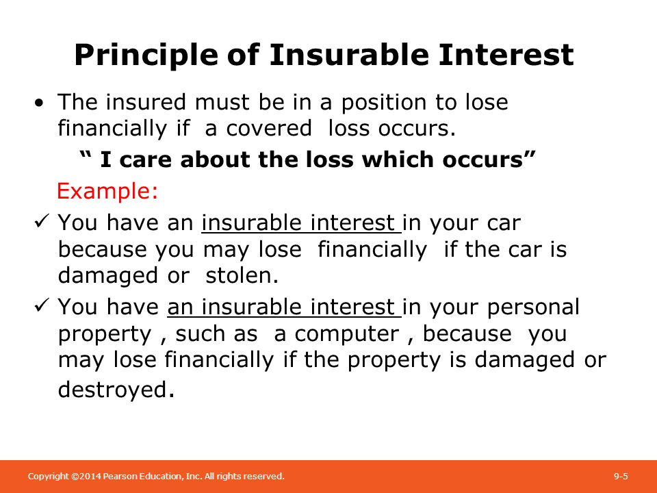 chapter 5 legal principles in insurance