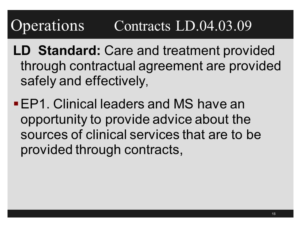 Contract Requirements Of Cms And Tjc 2011 What Hospitals Need To