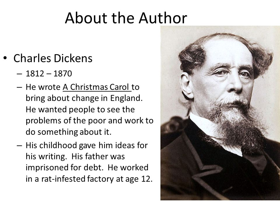 Who Wrote A Christmas Carol.Who Is The Author Of The Christmas Carol Thecannonball Org