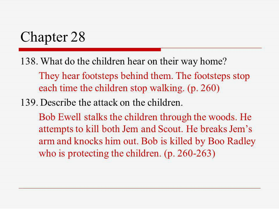 a chapter summary of jems journals chapter 4 Jems journal: chapter summary essay - jem's journal: chapter summary dan latham chapter 4 - i think at times my sister, scout can be disgusting i came home from a long day at school.