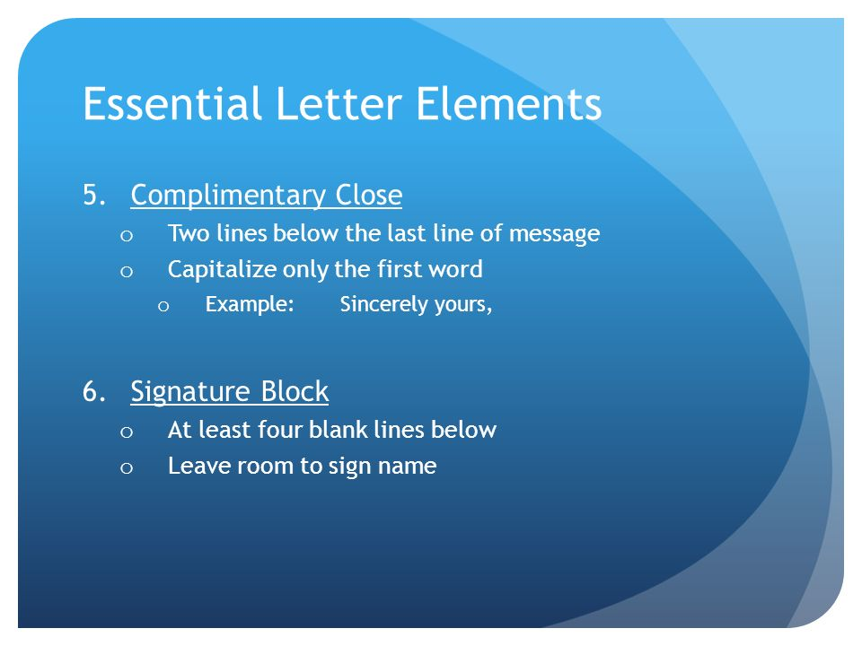 Business correspondence ppt video online download essential letter elements thecheapjerseys Choice Image