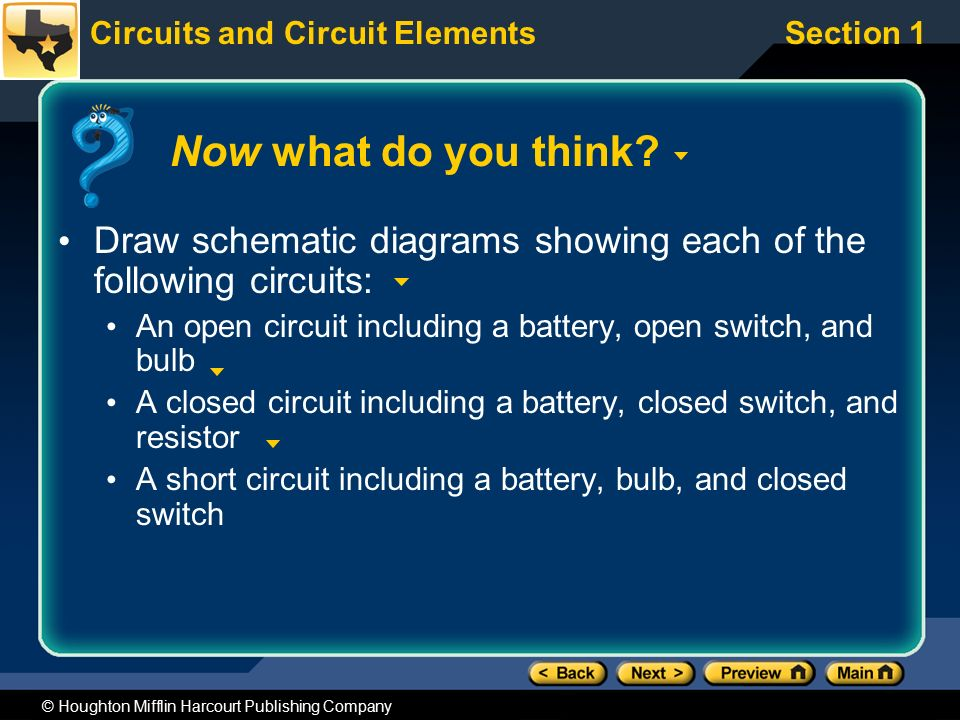 Preview Section 1 Schematic Diagrams and Circuits - ppt download on