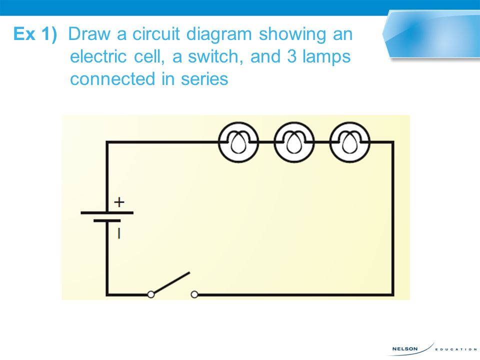 Circuit Diagrams 131 An Electric Circuit Can Be Represented Using A