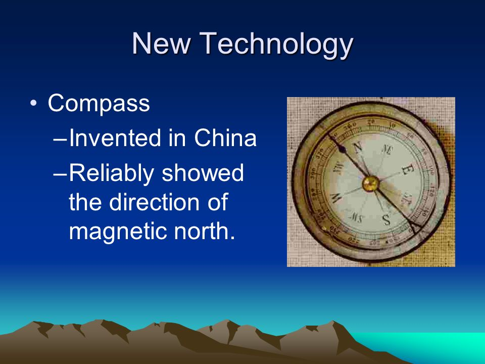 New Technology Compass Invented in China