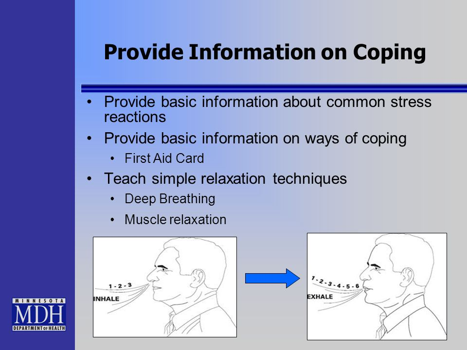 Provide Information on Coping