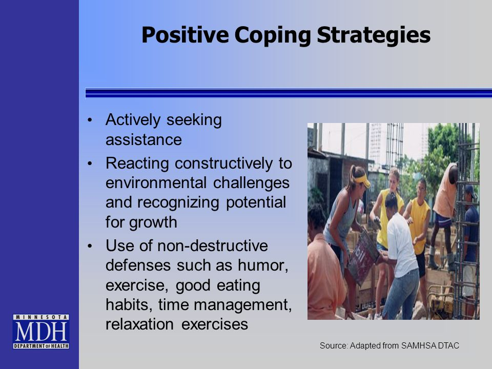 Positive Coping Strategies