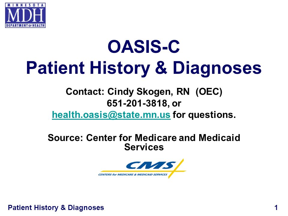 OASIS-C Patient History & Diagnoses