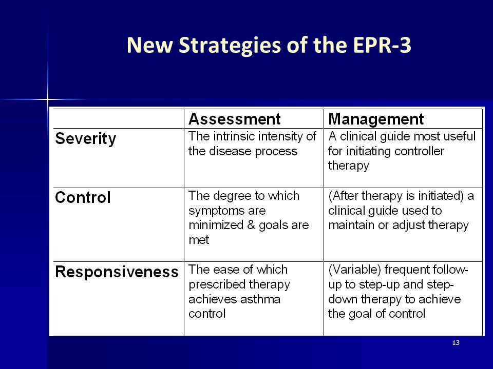 New Strategies of the EPR-3