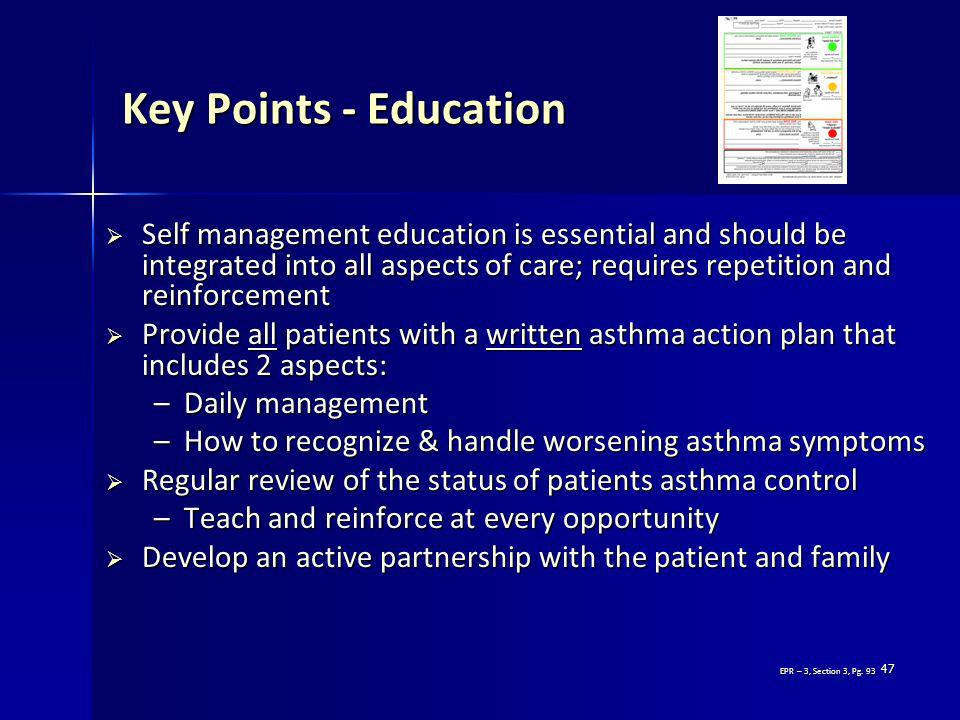 Key Points - Education