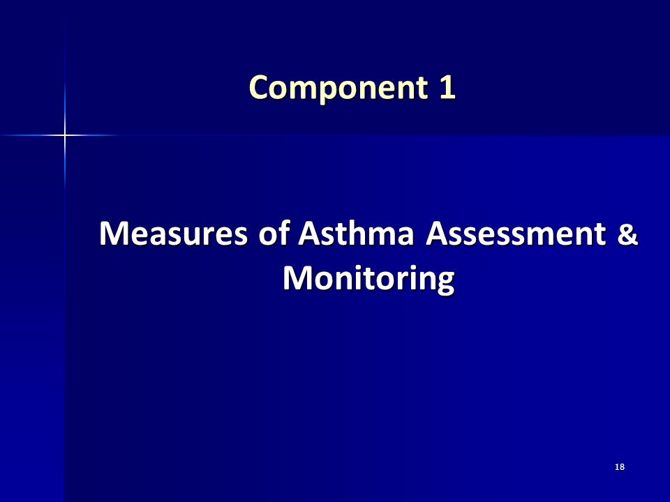 Measures of Asthma Assessment & Monitoring