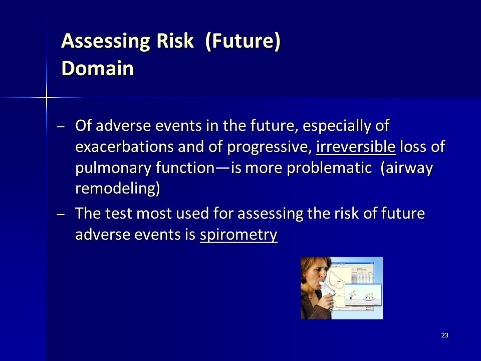 Assessing Risk (Future) Domain