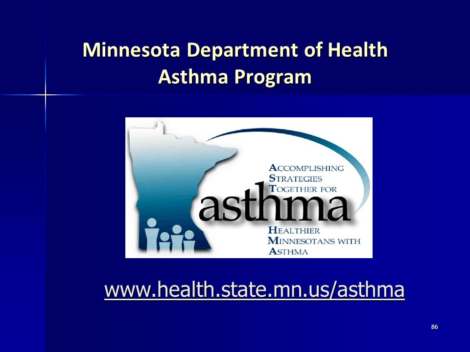 Minnesota Department of Health Asthma Program