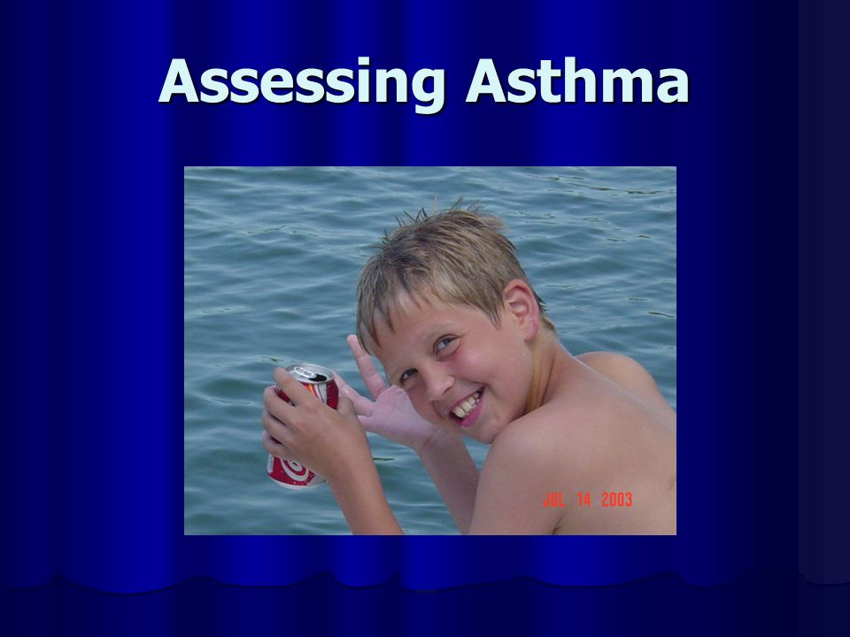 Assessing Asthma