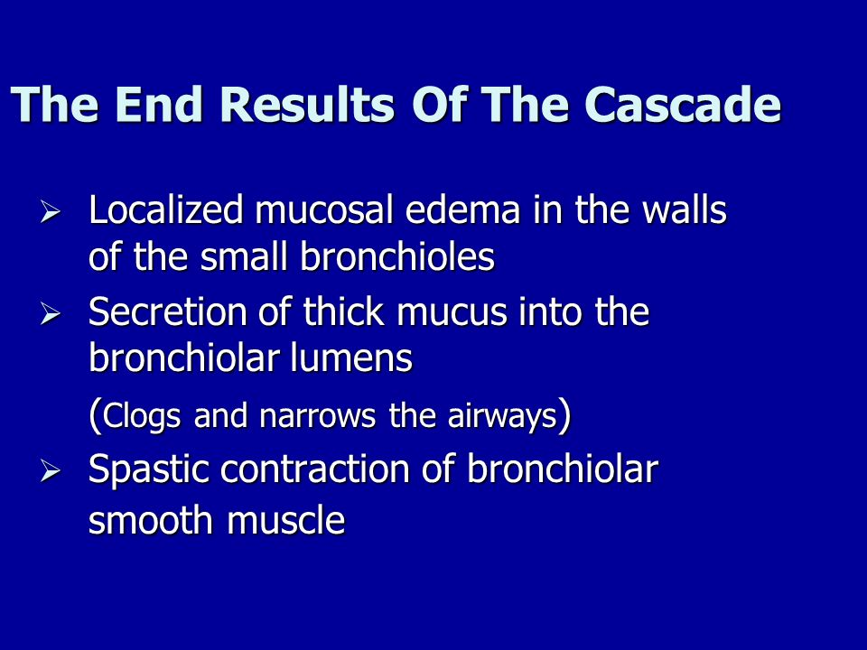 The End Results Of The Cascade