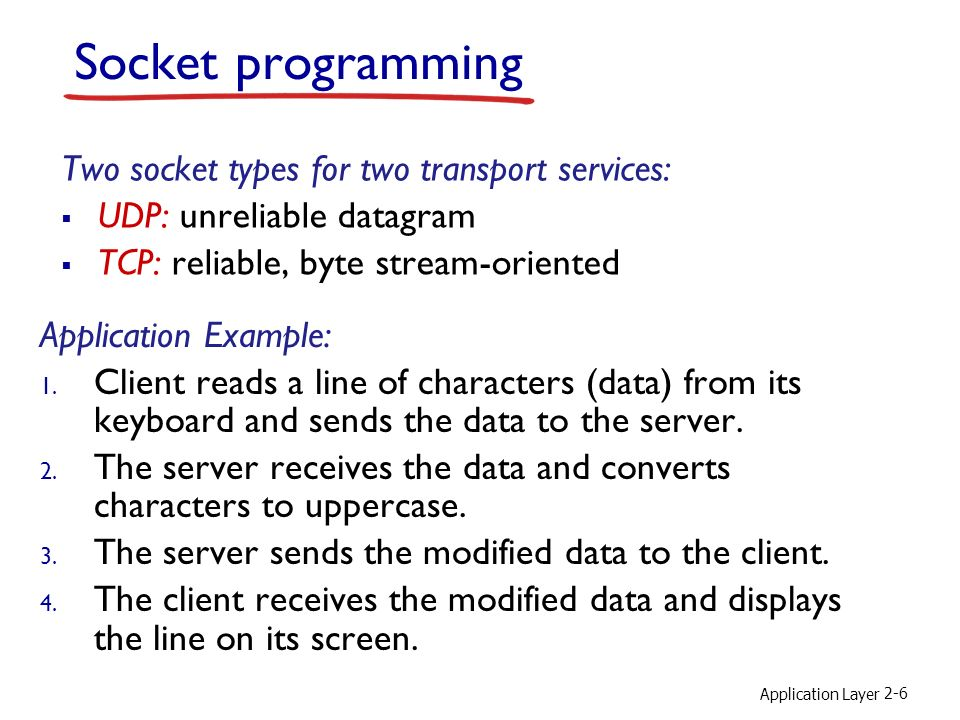 Discussion 2 Sockets Programming Applets TCP UDP HTTP Delay