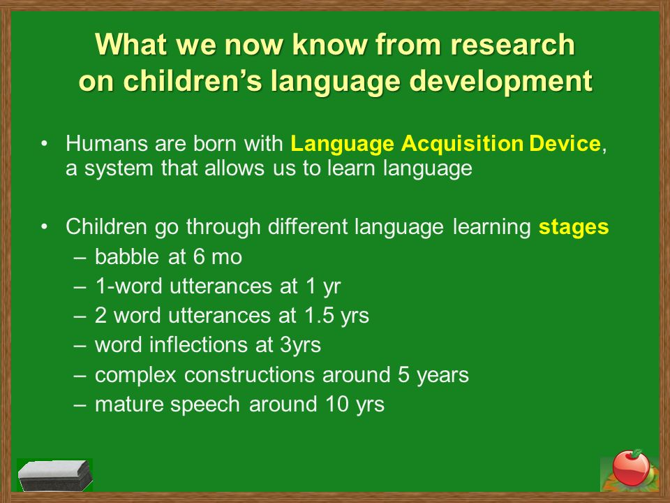speech about learning different languages